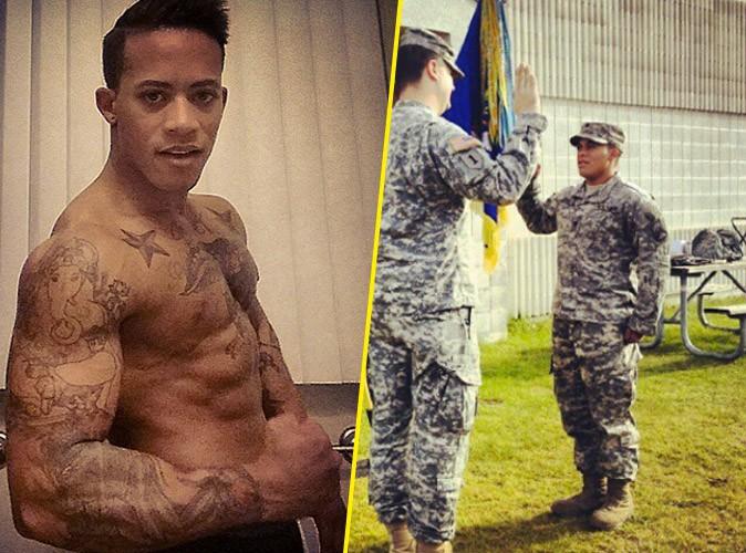 Public Buzz : Photos : transgenre, bodybuildé… et habillé en femme par l'armée US !