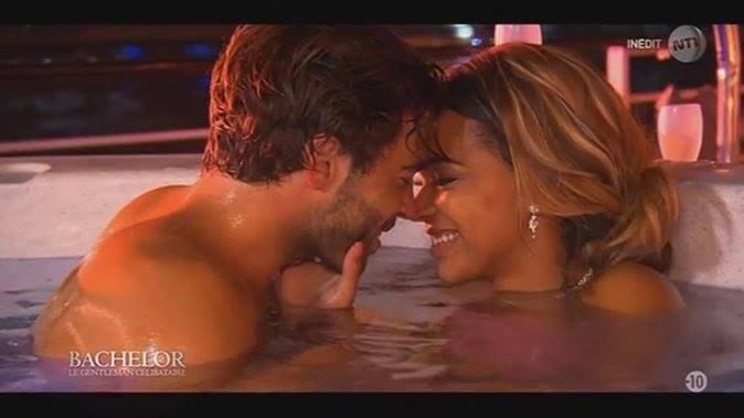 8-    Naëlle se laisse embrasser par le Bachelor