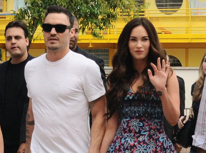 2- Megan Fox : Et finalement, le père de son enfant est….