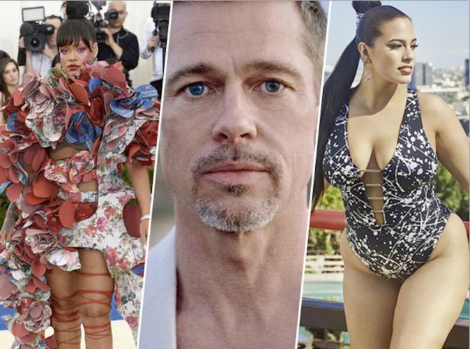 #Top10Public n°48 : Rihanna, Brad Pitt, Ashley Graham, les 10 photos marquantes de la semaine !