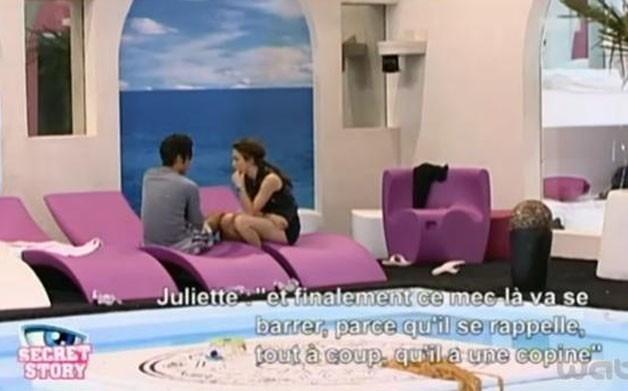 Juliette dit ce qu'elle pense à Simon ...