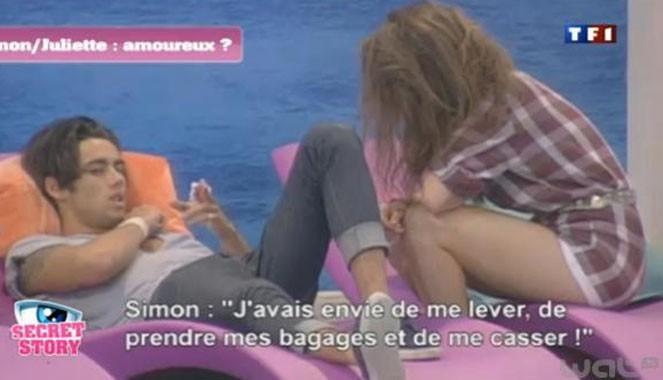 Simon va-t-il se laisser aller avec Juliette ?