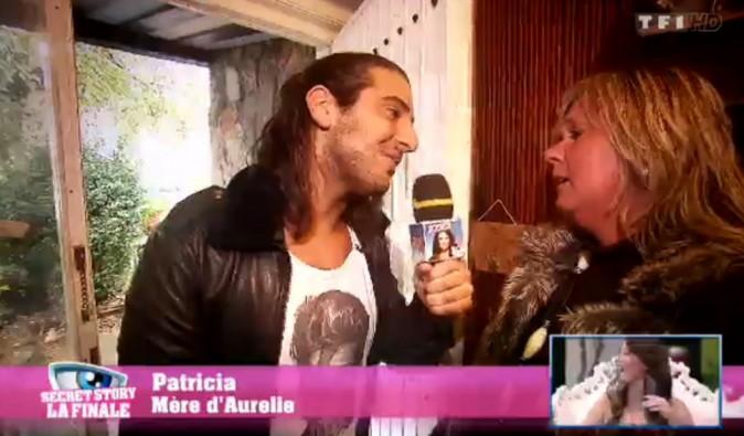 Rudy avec la maman d'Aurélie !