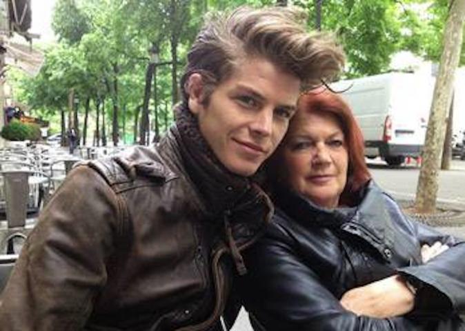 Gautier et sa maman, ancienne employée Endemol