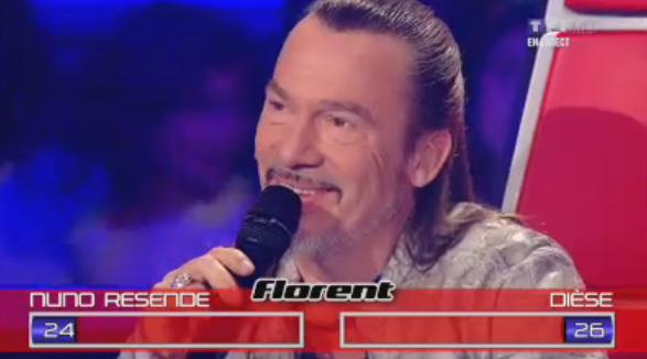 Le vote de Florent Pagny : galant !