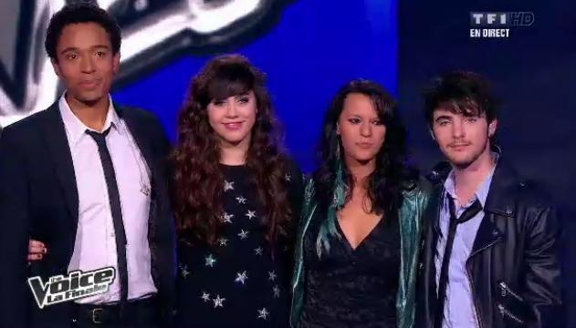 Les 4 finalistes attendent le résultat fatidique