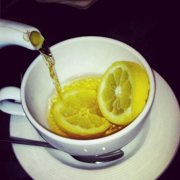 Un bon thé pour la voix