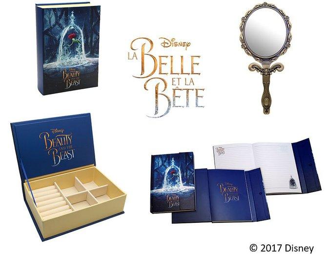 Jeu Concours : La Belle et la Bête : Des places de ciné, miroirs, coffrets à bijoux... à gagner sur Public Ados !