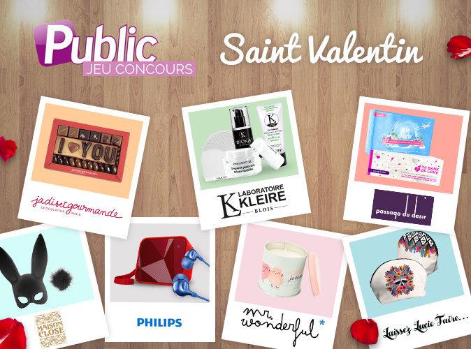 Jeu Concours Spécial St-Valentin : Tentez de remporter un ensemble coquin, une trousse beauté, des bougies et pleins d'autres cadeaux !