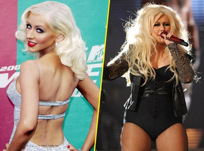 Christina Aguilera : ça casse mais elle s'accroche!