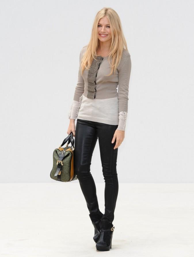 Sienna Miller, une vraie fashionista!