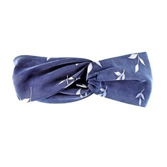 Accessoires cheveux été 2011 : le turban double en cupro imprimé !