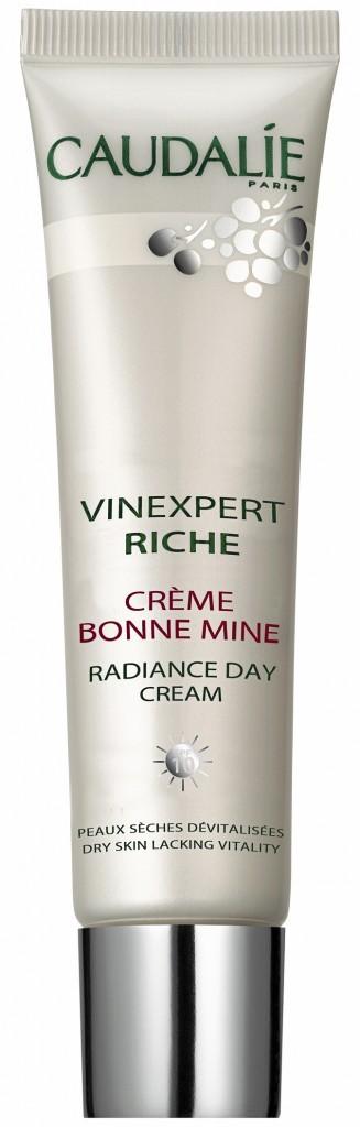 Crème bonne mine, Vinexpert Riche, Caudalie. 28 €.