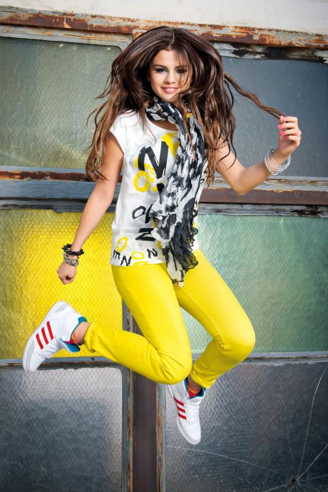 Selena Gomez pour la campagne d'été Adidas !