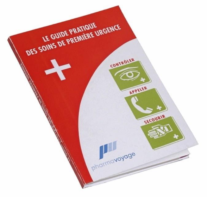 Guide pratique des soins de première urgence, Pharmavoyage 5 €