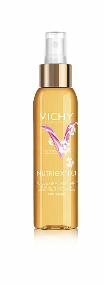 Pour un body sattiné et pas moit : Huile extraordinaire, Nutriextra, Vichy 18,30 €