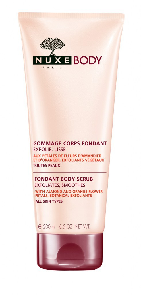 Gommage Corps Fondant, Nuxe. 16,80 €.