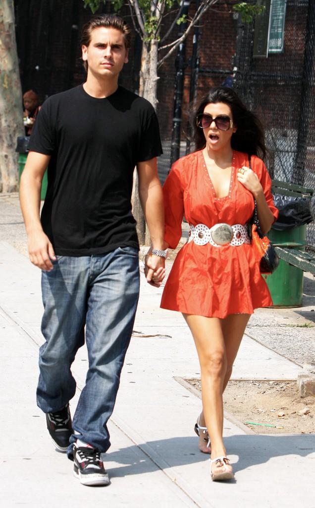 Kourtney Kardashian en 2008