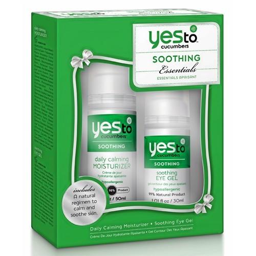 Kit crème de jour et gel contour des yeux, Yes to cucumbers, en exclu chez Sephora 19,90 €
