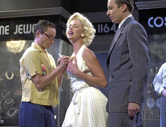 Marilyn Monroe? Non, c'est bien Charlize Theron pour le parfum Dior J'adore. Top !