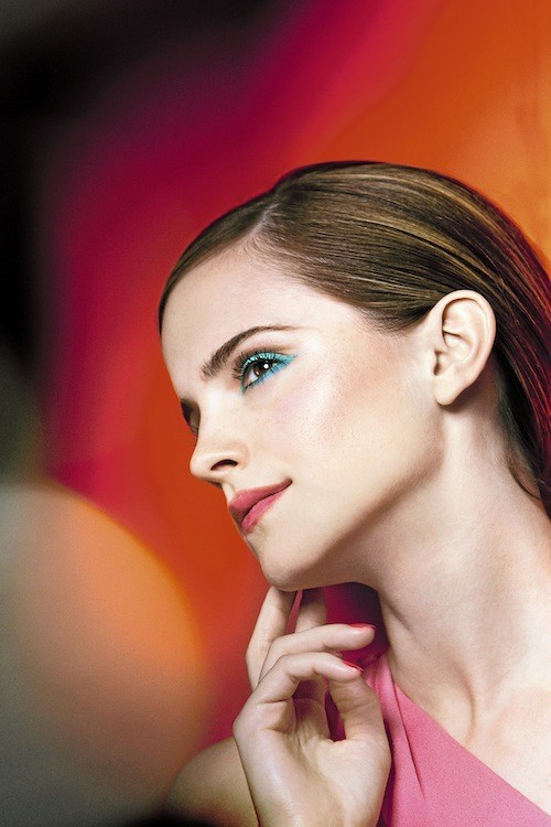 mode d'emploi du make-up bleuffant d'Emma Watson !