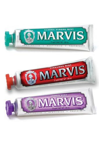 Dentifrice à la menthe forte, Marvis 9€
