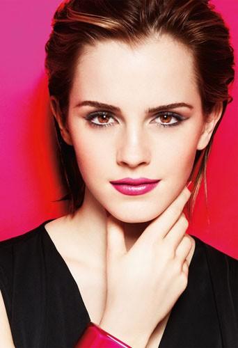 Osez le make-up rose tendance d'Emma Watson, égérie Lancôme !