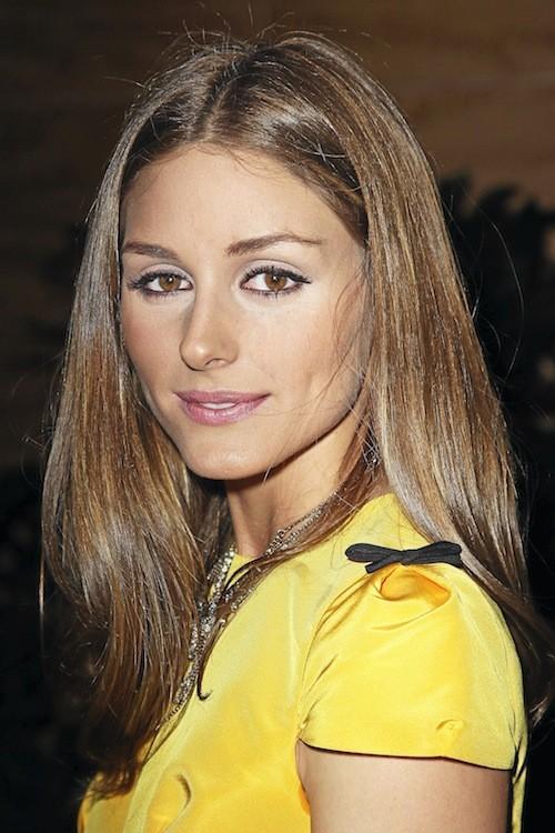Olivia Palermo : Une bouche rosée, des yeux élégamment dessinés : Olivia se maquille aussi bien qu'elle s'habille.