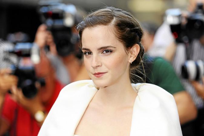 Emma Watson : le chignon de danseuse