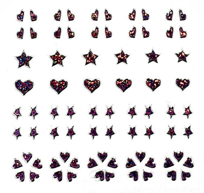 Vernis tendance printemps-été 2011 :  des strass Peggy Sage pour des ongles pailletés