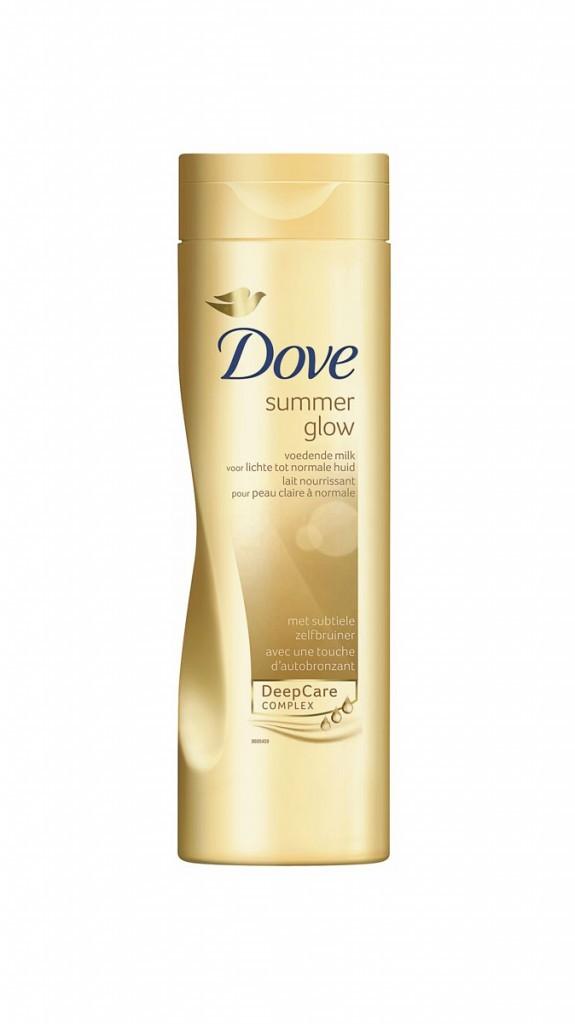 Le lait nourissant autobronzant Dove à moins de 10 euros !