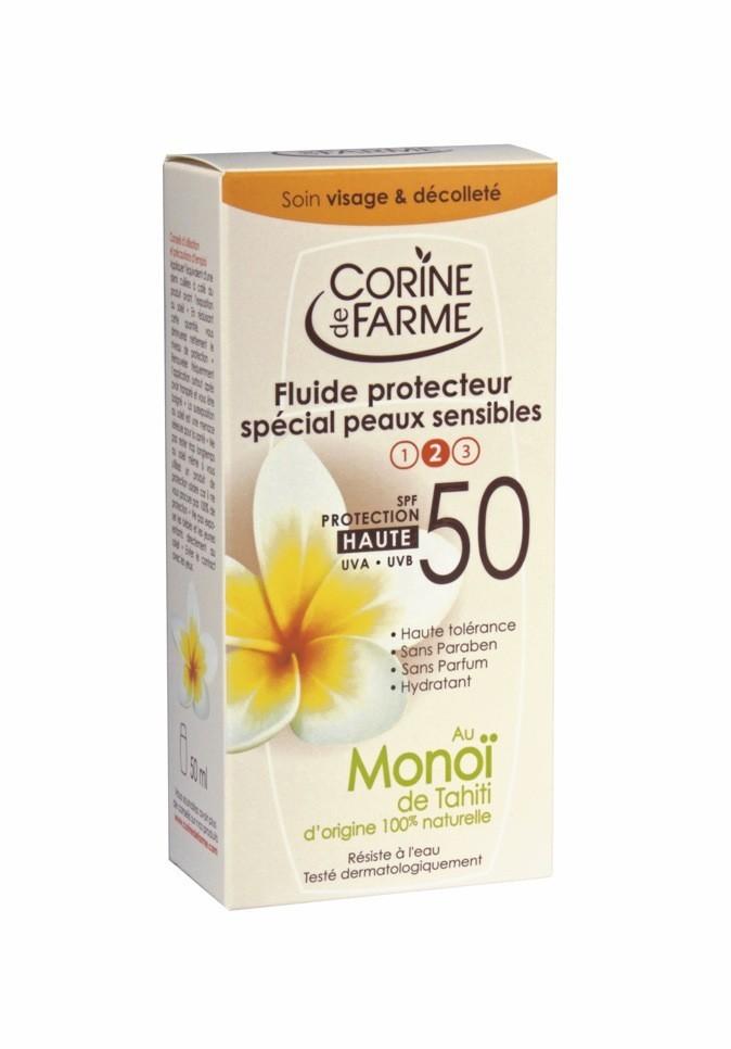 Fluide protecteur SPF 50, Corine de Farme 9,50 €