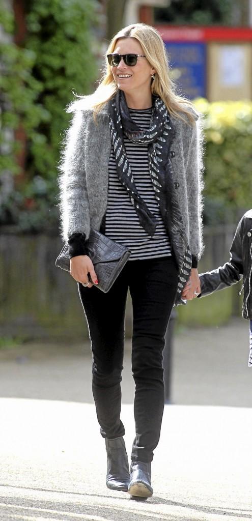 Kate Moss so rock'n roll !
