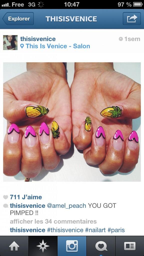 Notre top 5 sur instagram