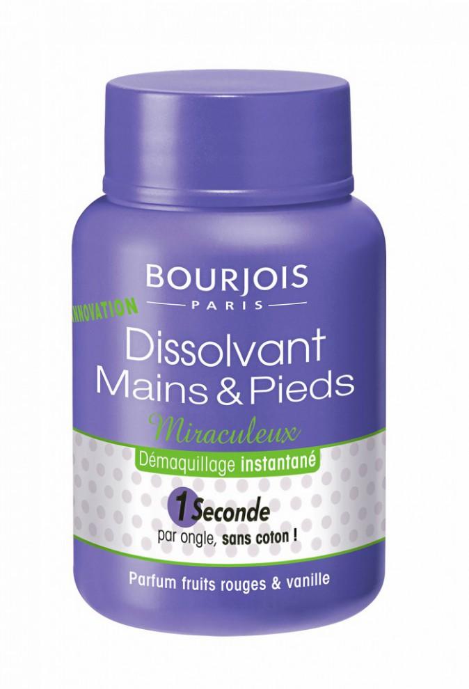 Dissolvant Mains et pieds, Bourjois 9,50 €