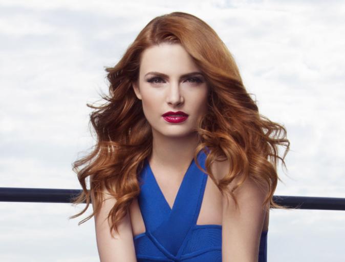 Beauté : Je veux le beauty look retro d'Elodie Frégé !