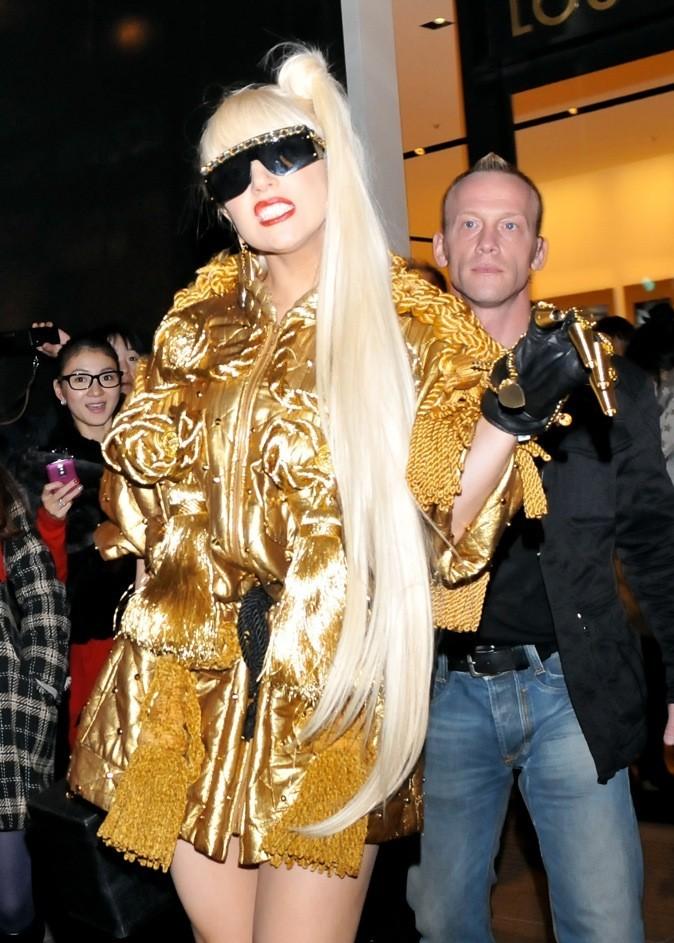 Lady Gaga aux mains d'or !