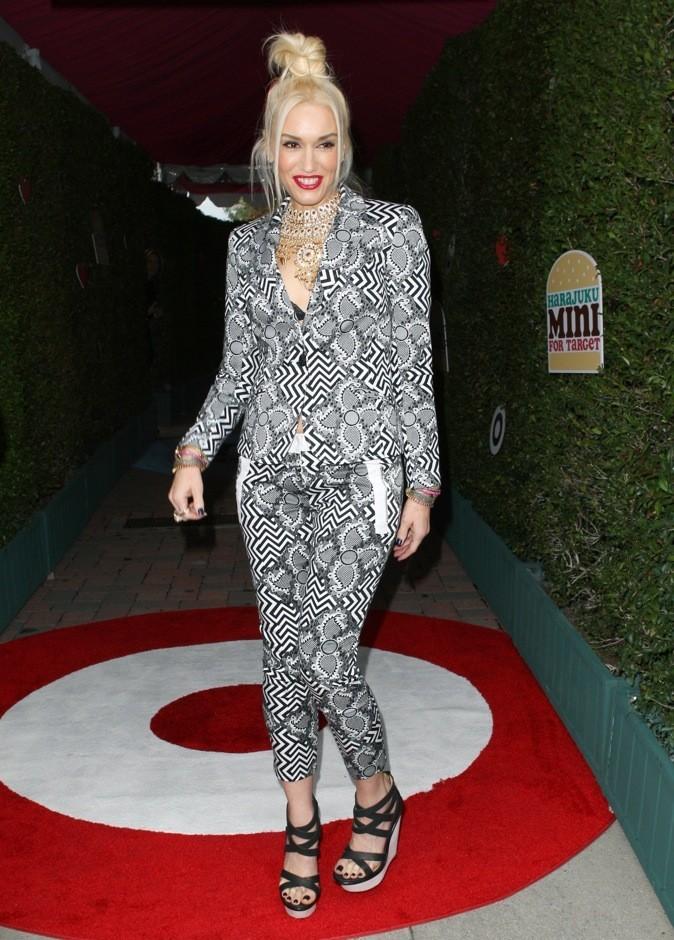 Gwen Stefani adore le chignon bun !
