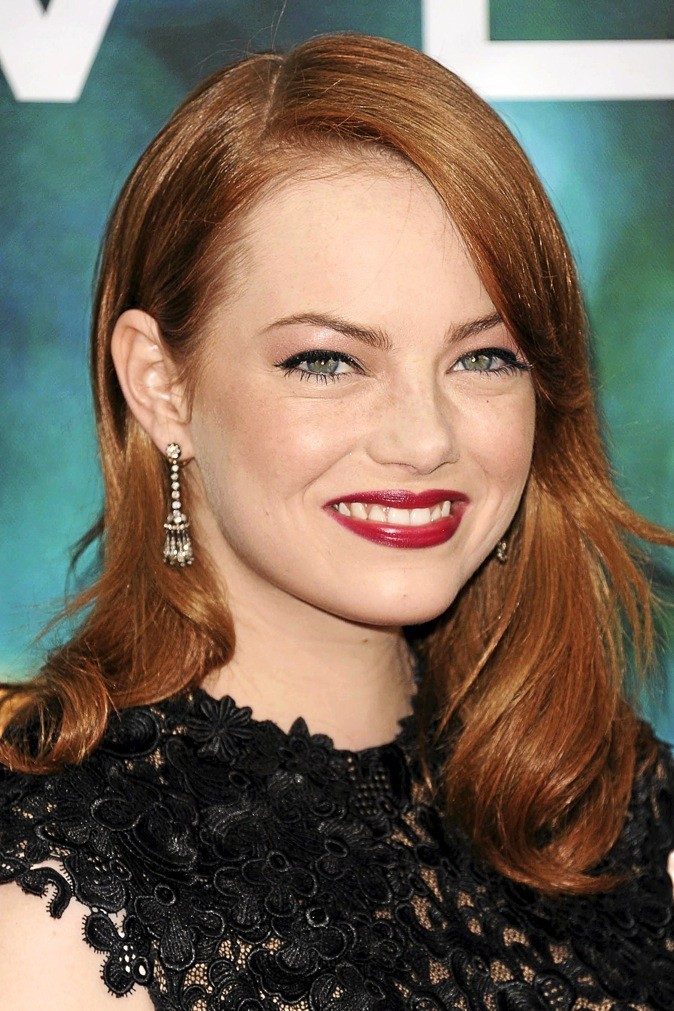 Le make-up glam d'Emma Stone !