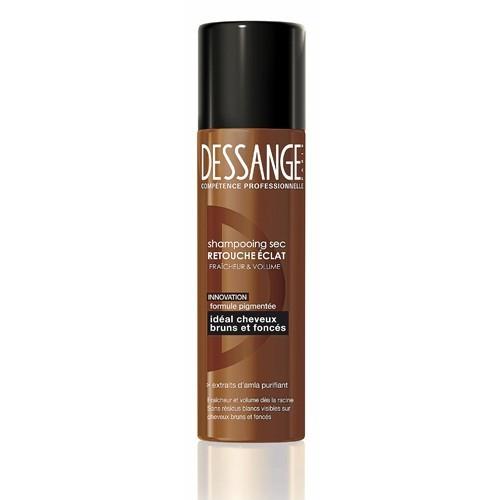 Shampooing sec, retouche éclat, cheveux bruns et foncés, Dessange 6,90 €