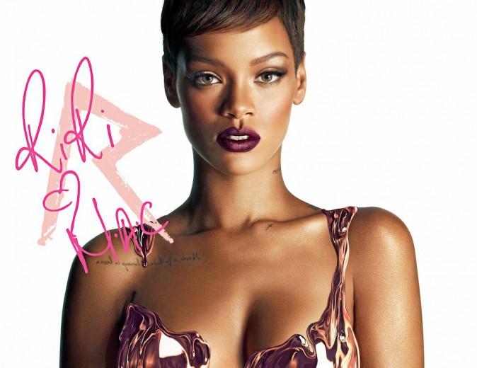 Rihanna pour M.A.C Cosmetics