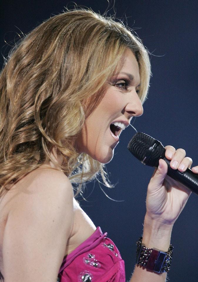 Céline Dion après sa rhinoplastie
