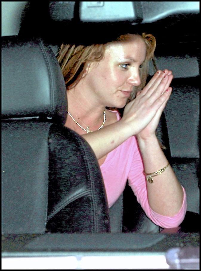 "Britney Spears, période ""Blackout"" en 2007"