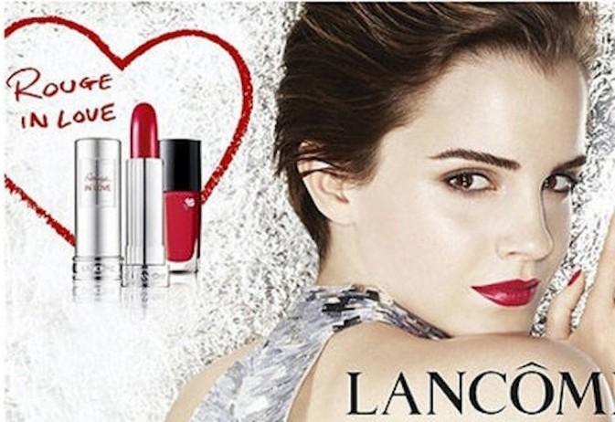 Emma Watson pour Lancome