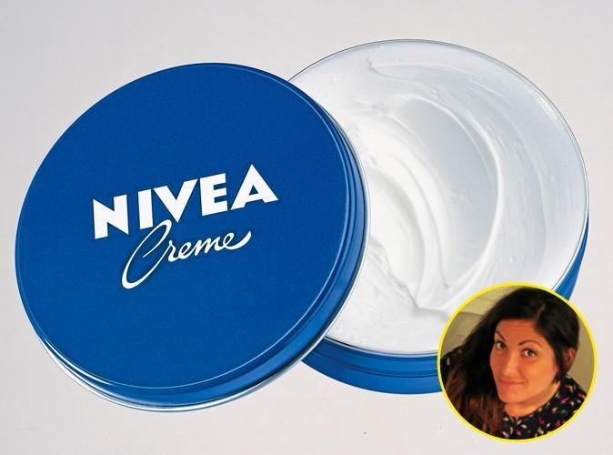 Leslie a choisi la crème, Nivea. 2,60 €