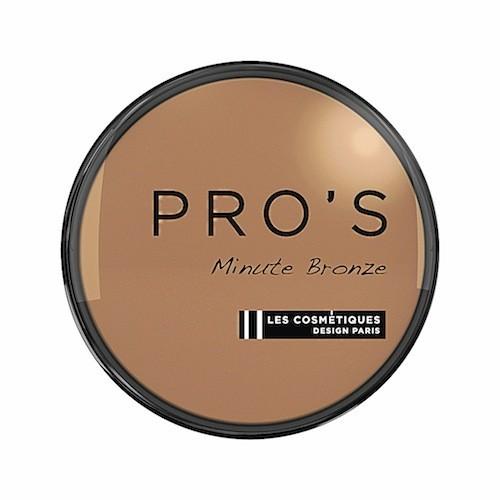 Poudre bronzante, Minute bronze, Cosmétiques Carrefour Design Paris, 7,30 euros