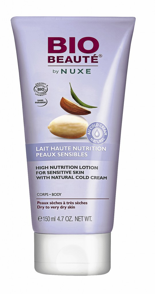 Lait haute nutrition peaux sensibles, Bio Beauté by Nuxe 14,90 €