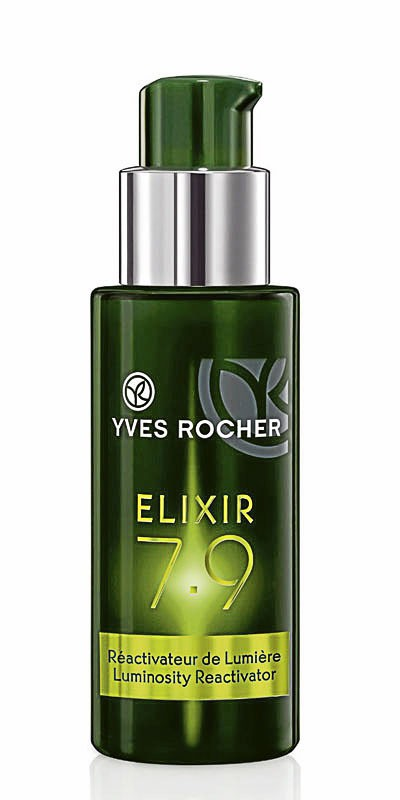 Fluide réactivateur de lumière, Élixir 7.9, Yves Rocher 14,50 €