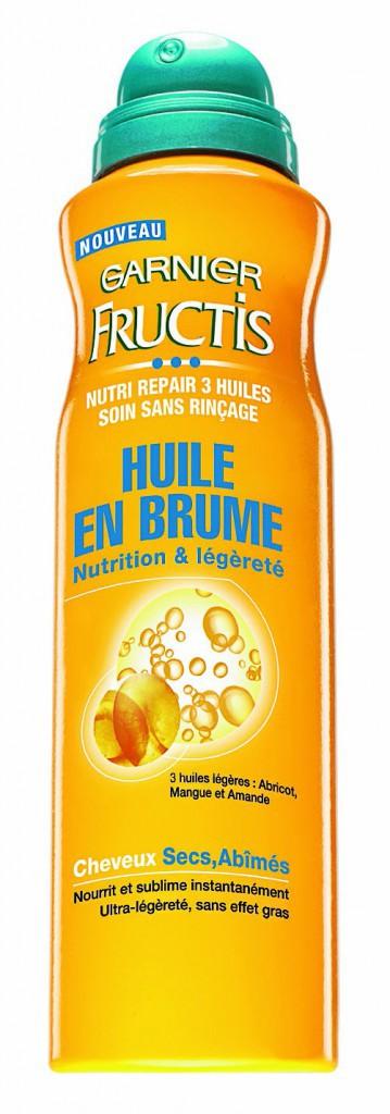 Huile en brume, Nutri Repair, Fructis, Garnier 6,90€