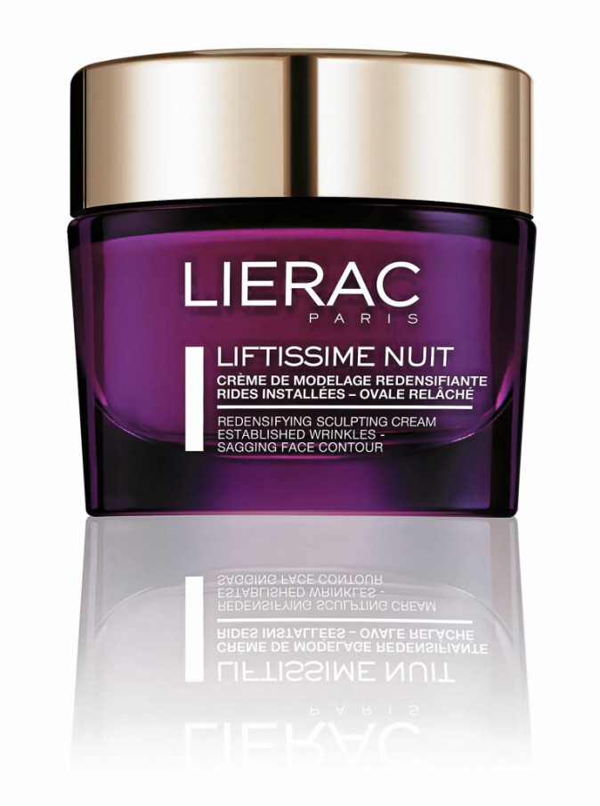 Un visage rajeuni : Crème Liftissime Nuit, Lierac 72,96 €
